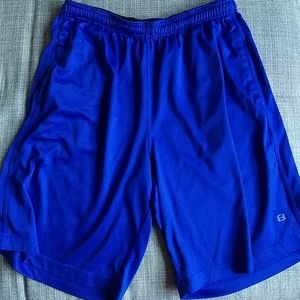 Layer 8 blue gym shorts